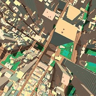 Aerial view #mantle3dtech #theme #eltnam #aerial #view #city #world #generate #buildings #tall #indiedev #indiegames #style #geolocation #nofilter #pushbuttonworlds #vr #ar #unity3d #unityassestsstore #live #mapping #gaming #design