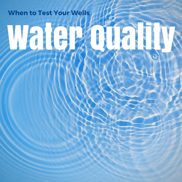 Annual Well Water Testing
