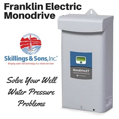 Franklin Electric MonoDrive Constant Water Pressure System
