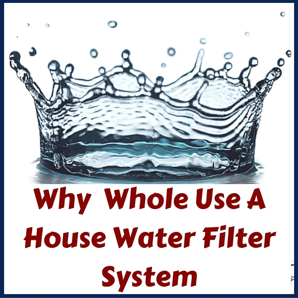 Why you should use a whole house water filtration system when on a water well