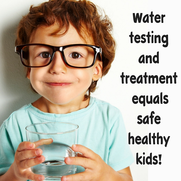 Well water safety, water testing and the health of your children.