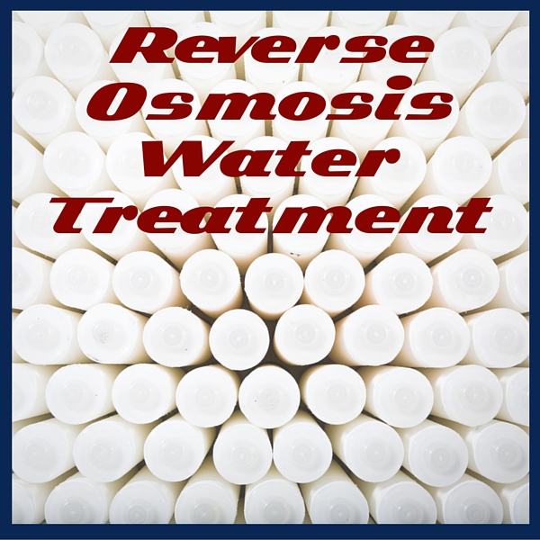 Reverse osmosis is effective water treatment