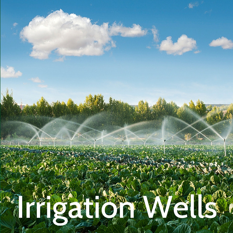 Frequently asked questions about irrigation wells