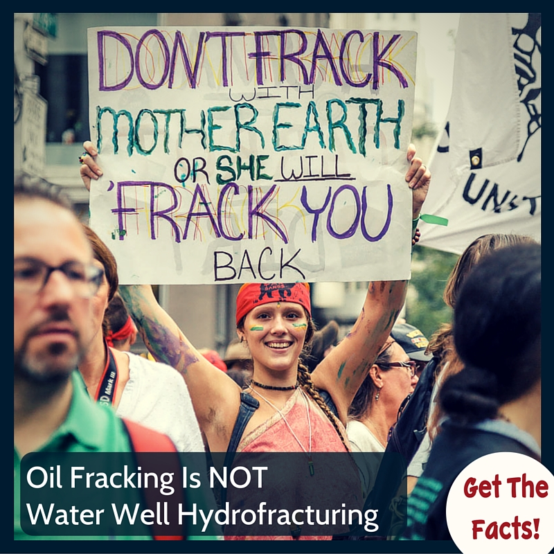 Oil Fracking VS Water Well Hydrofracturing