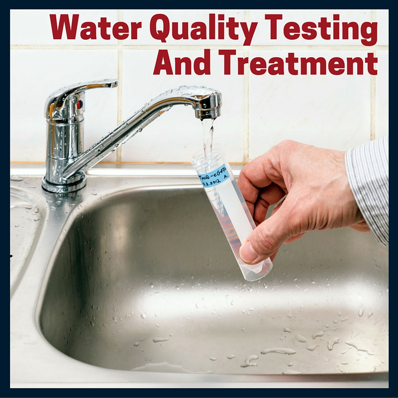 Water quality testing and treatment