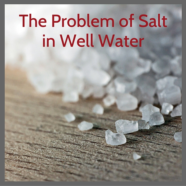 NACL-The problem of salt inwell water