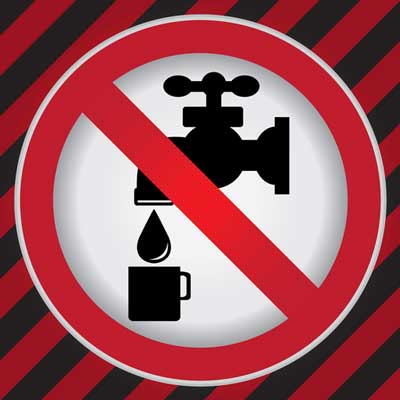 "What to do if you have ""NO WATER"""