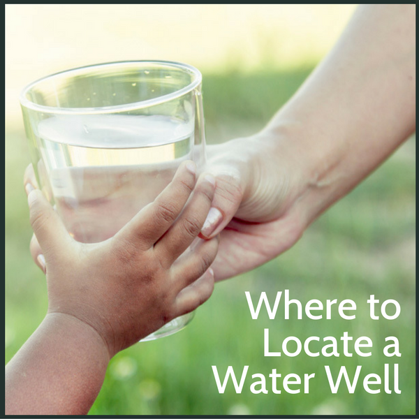 Where to locate a residential water well