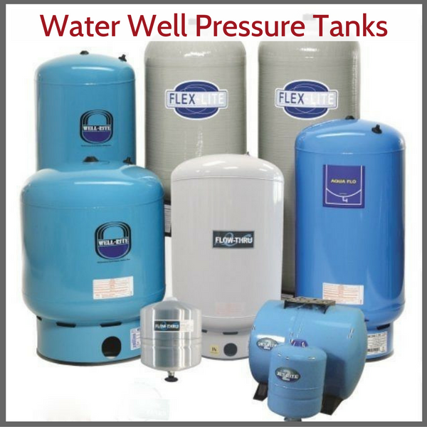 Water well pressure tanks explained