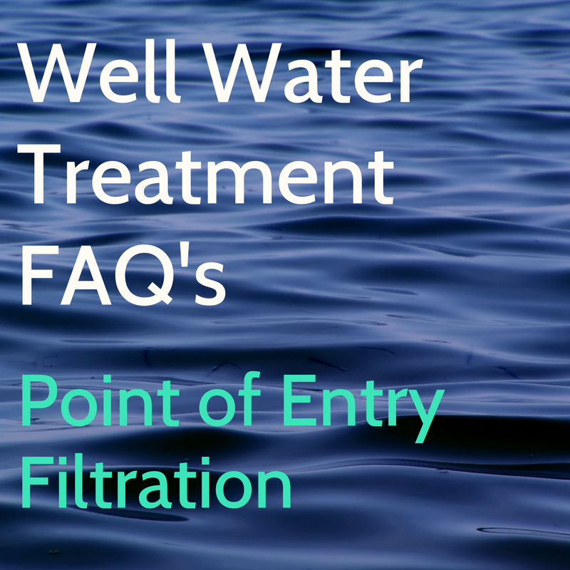 Water Treatment Whole House Filtration