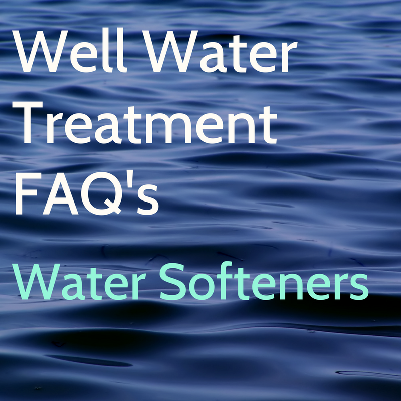 Well Water Treatment, FAQ's on Water Softeners
