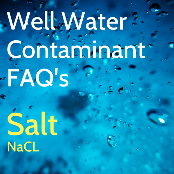 Salt Contamination in Well Water