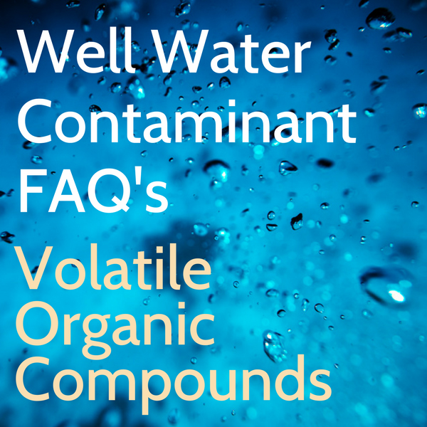 Well Water Contamination VOC's