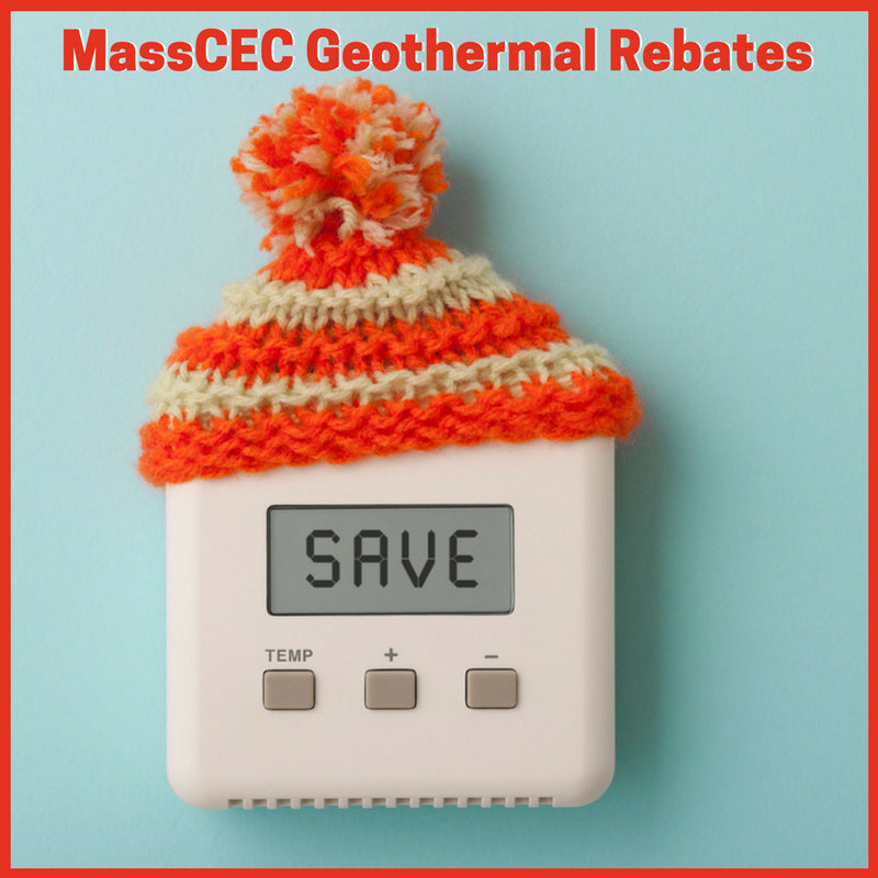 MassCEC Tax Rebates for Geothermal