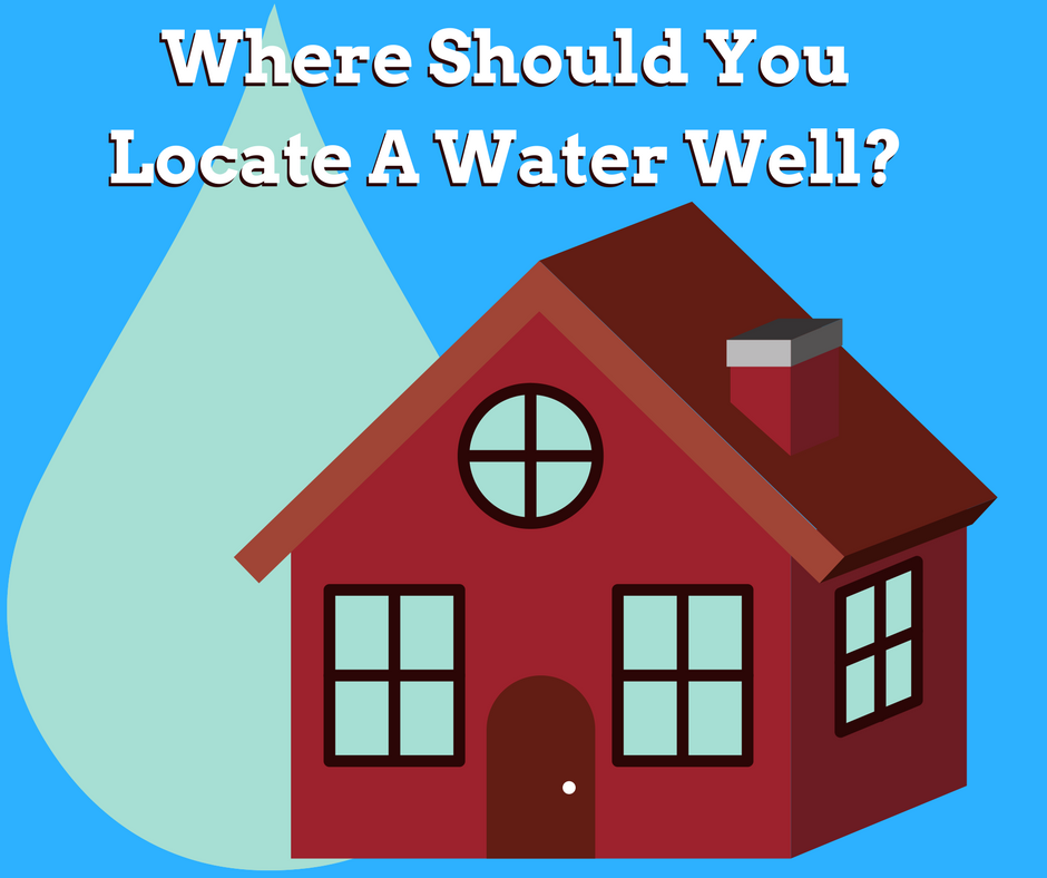 where should you locate a water well?