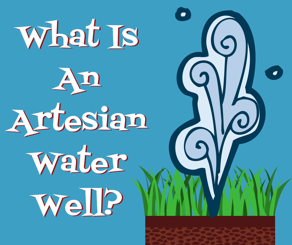 What is an artesian well?