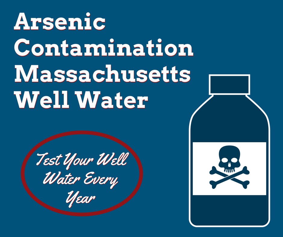 Arsenic Is A Well Water Contaminant In Massachusetts