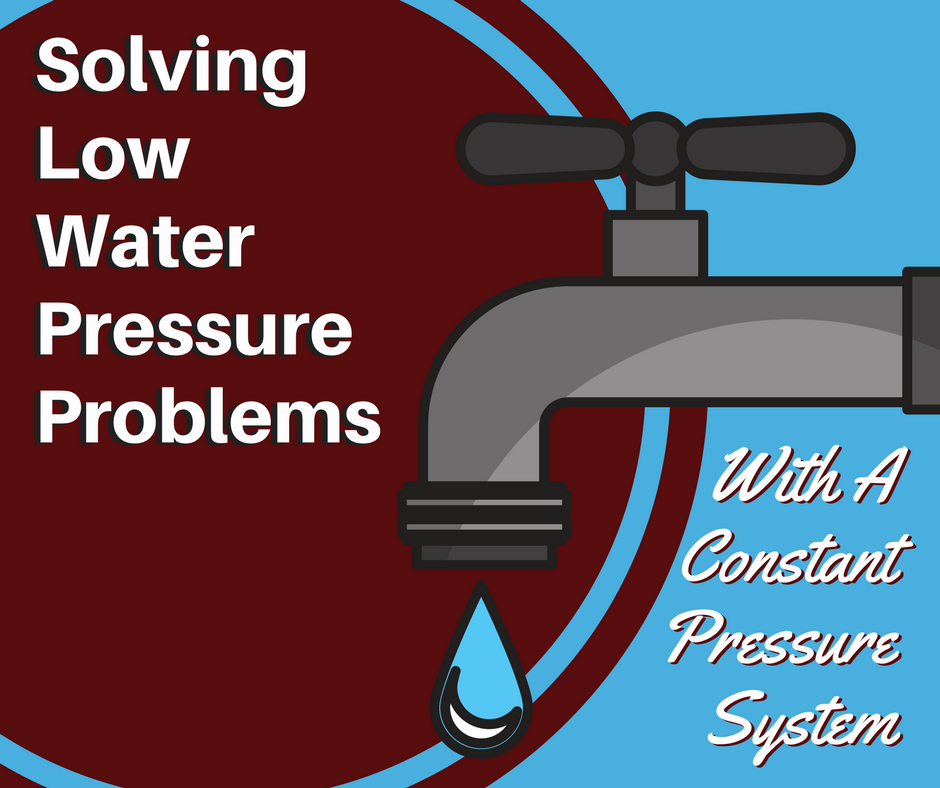 solving low water pressure problems