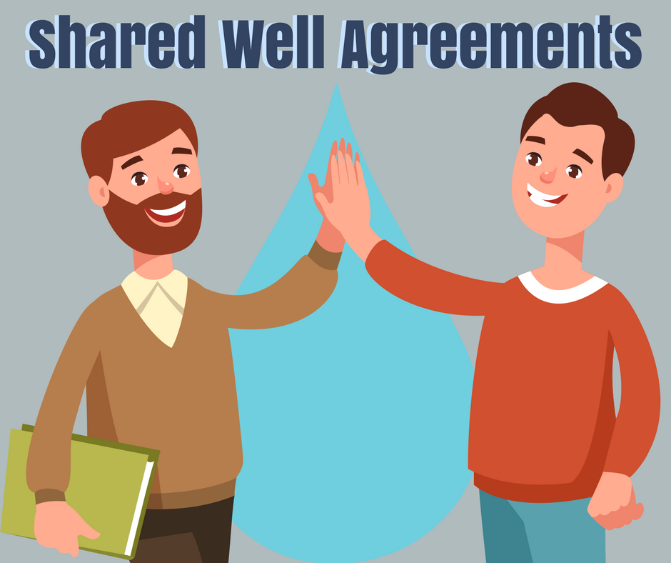 What are shared water well agreements