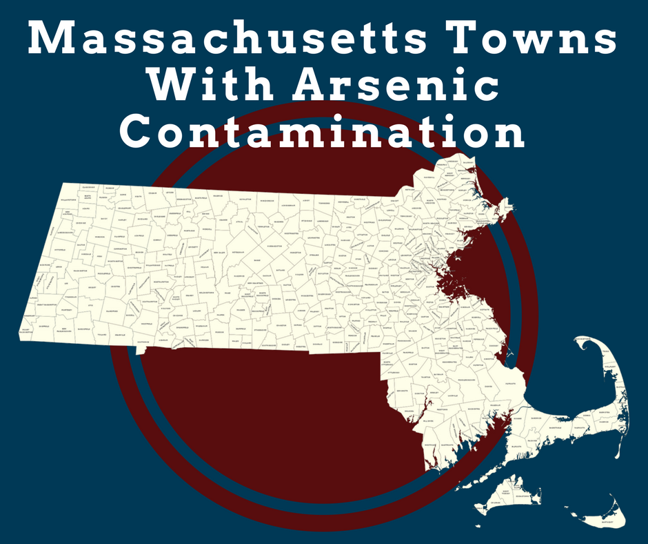Massachusetts Towns with Groundwater Arsenic Contamination