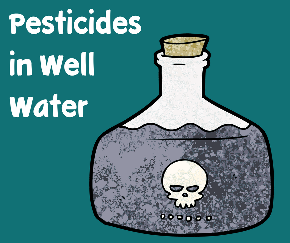 pesticides in well water