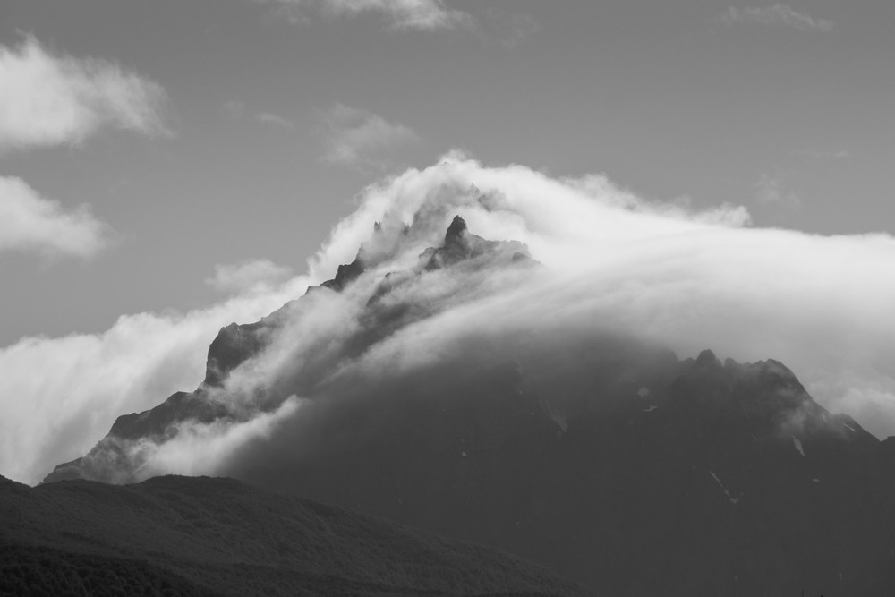 Mountain peak, Patagonia
