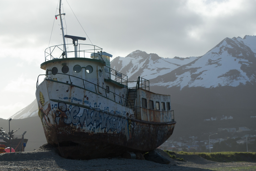 High and dry in Ushuaia