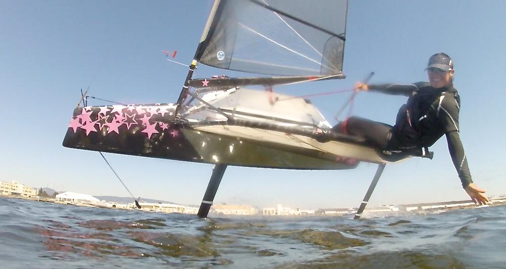 Katherine Knight Moth sailing