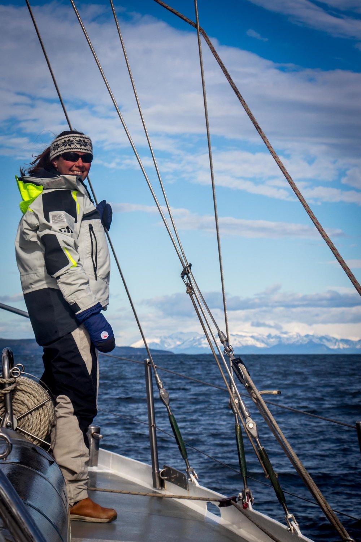 Katherine Knight adventure sailing
