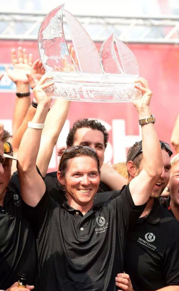 Eric Holden, Clipper Round the World Race winner