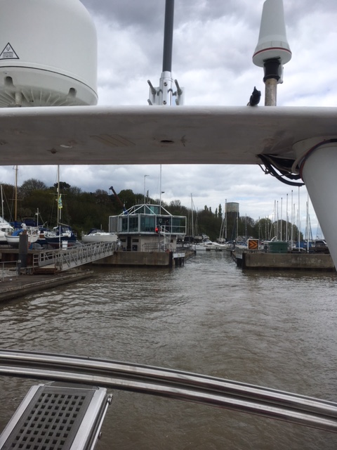 Leaving Shotley bound for adventure
