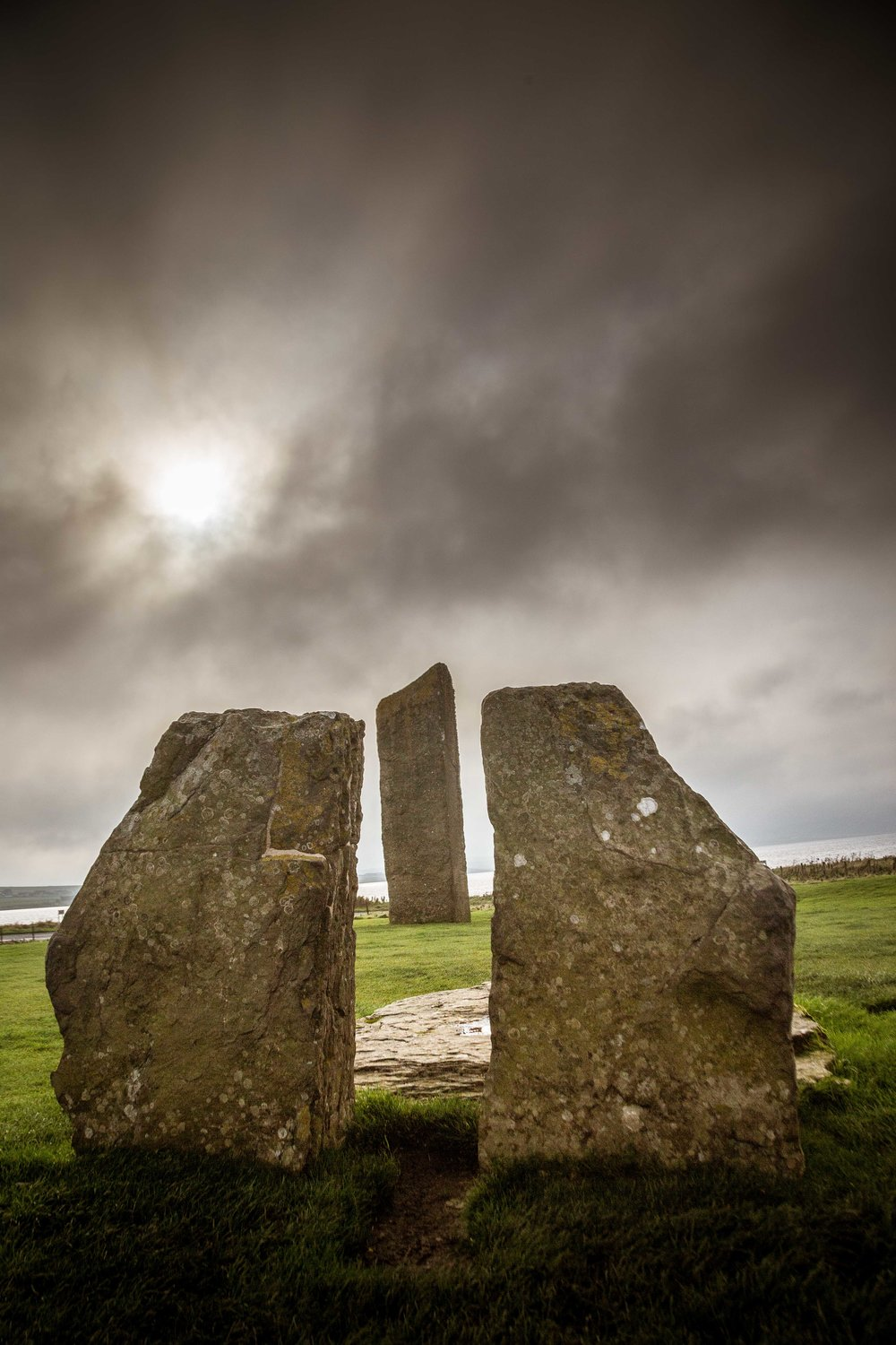 To mystical rings of standing stones
