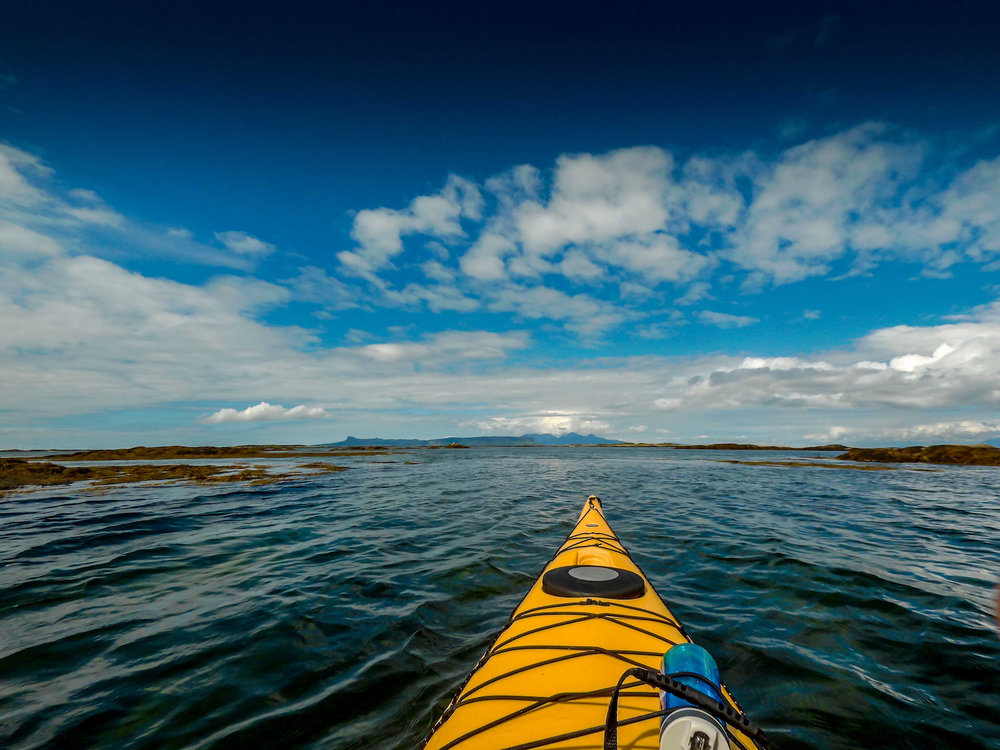 Sea kayaking expedition - Arisaig