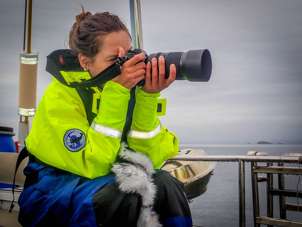 Sailing expedition photography