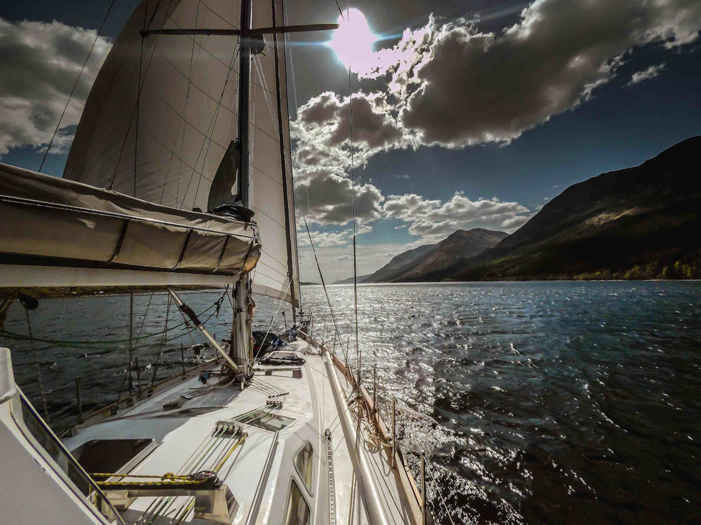 Sailing voyages in the arctic