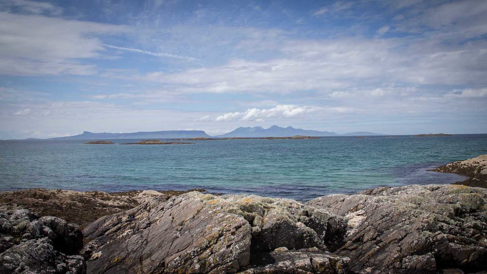 Sea kayaking Arisaig, Scotland