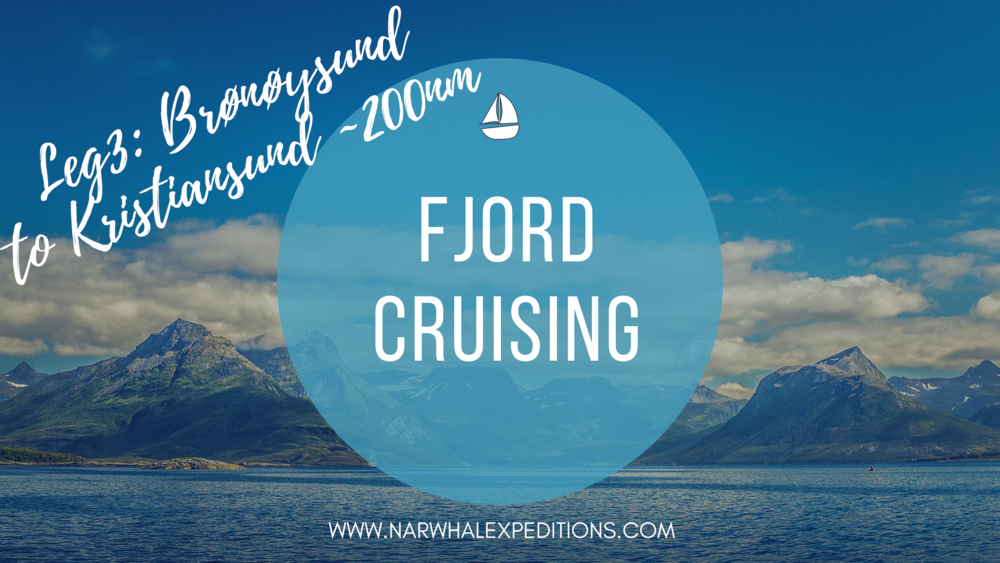 Adventure sailing trip in the fjords of Norway