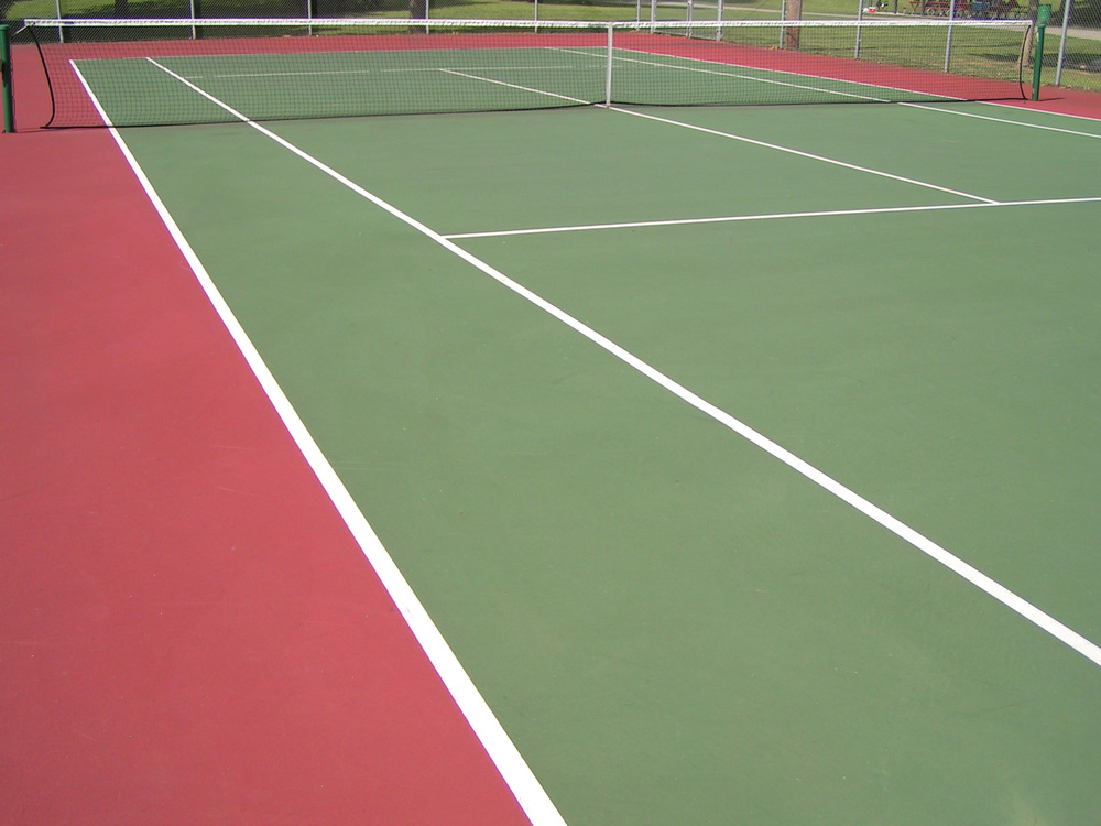 Jerry's Paving can pave your new tennis court! Call today.