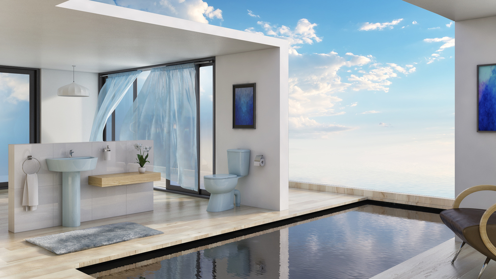 Popular Dream Bathrooms Exterior