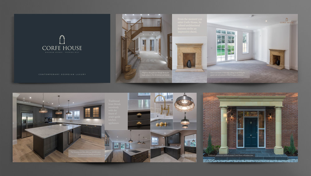 Brochure produced for Bracken Developments Limited
