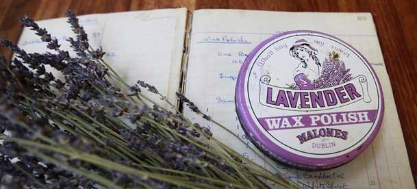 Malones of Dublin Lavender Wax