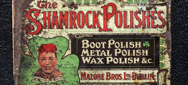 Malones of Dublin Shamrock Polish