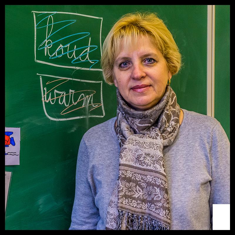 Svetlana  - mentor van Baanbrekers