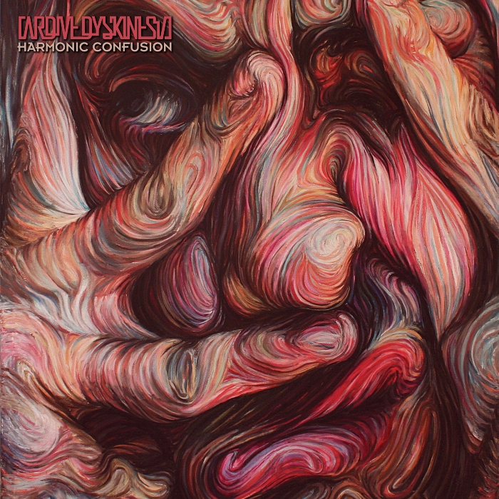 Harmonic Confusion tracklisting: 1. INSERTION 2. FIRE RED GLASS HEART 3. THE ELECTRIC SUN 4. SELF DESTRUCTIVE HAZE 5. THREAD OF LIFE 6. CONCENTRIC WAVES 7. TRIANGULATION THROUGH IMPASSE 8. SAVIOR COMPLEX 9. ΕCHOES 213 10. CHRONICITY