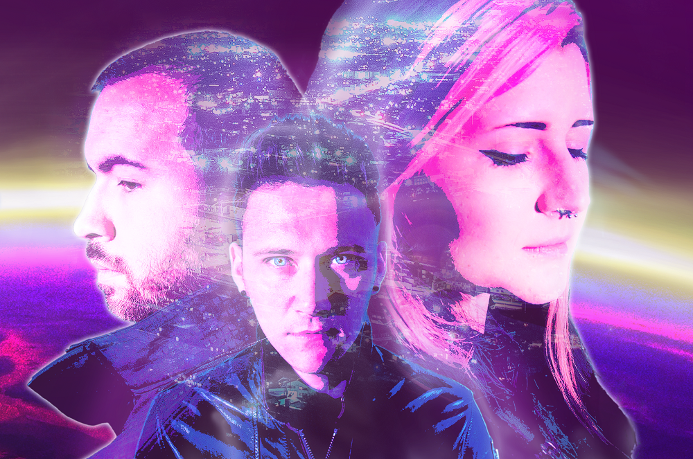 Synthwave Trio ZETA Release Cinematic Video and Instrumental Version