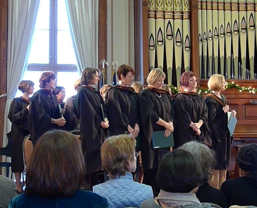 There I am on the far right about to graduate from VCFA. Our class name was the Bat Poets, after the inspiring book,  The Bat Poet  by Randall Jarrell.