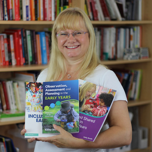 Kathy Brodie, MA in Early Childhood Education (Distance Learning)