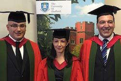 Charles Saliba, Pauline Grech and Leonard Bussitil, PhD (Malta)
