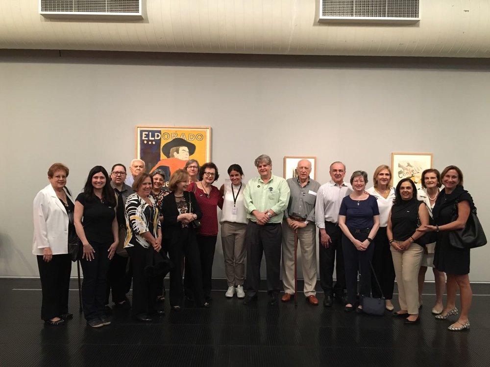 Visita à Exposição Toulouse-Lautrec
