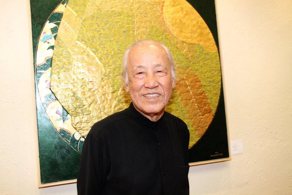 """Kazuo Wakabayashi na exposição """"Wakabayashi: Xogum de todas as cores e texturas"""""""